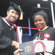 Dr. Richardson (CAS Faculty Affiliate) delivers Commencement Address at the University of Liberia