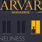 Cover of the Harvard Magazine January-February 2021 Issue