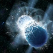 Earth's gold came from colliding neutron stars