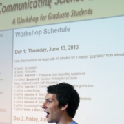 Graduate students help organize premier conference on scientific communication