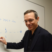 RUIYI LI Professor Avi Loeb, chair of the Astronomy Department at Harvard, founded the Black Hole Initiative.