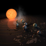 Artists Conception of Habitable Zone
