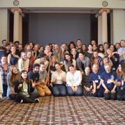 A group photo from ComSciCon-MI 2018