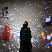 teamLab exhibition at Radcliffe