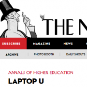 New Yorker Magazine Covers Online Courses, Profs. Bol and Elliott Highlighted