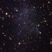 Hubble image of the Sagittarius Dwarf Galaxy in the local group