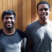 Mahesh Gangishetty and AbdelJaleel Ismail