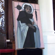 Memorial Church commissions artist Janet McKenzie for signature painting
