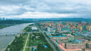View of colorful Pyongyang_photo by Esse Chen