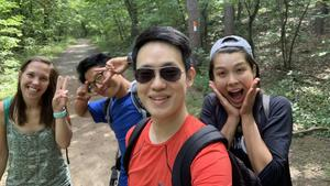 Hiking with RSEA friends_photo by Jihwan Lee