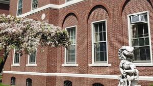 Harvard Yenching building in spring_photo by Sejan Choi