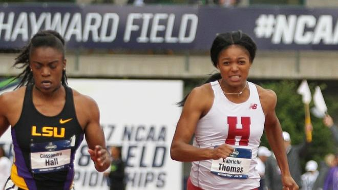 Gabby Thomas NCAA