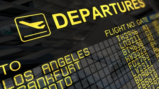 Departures/Arrivals Board