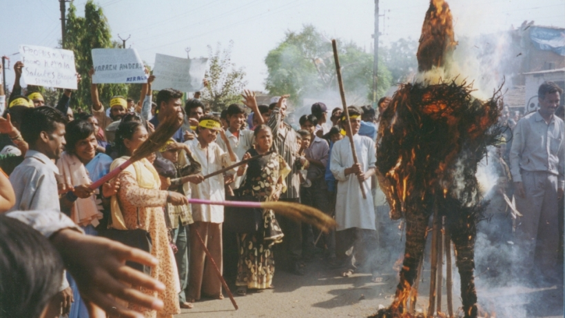 The annual ritual of burning CEOs, politicians, companies and countries, in effigy.