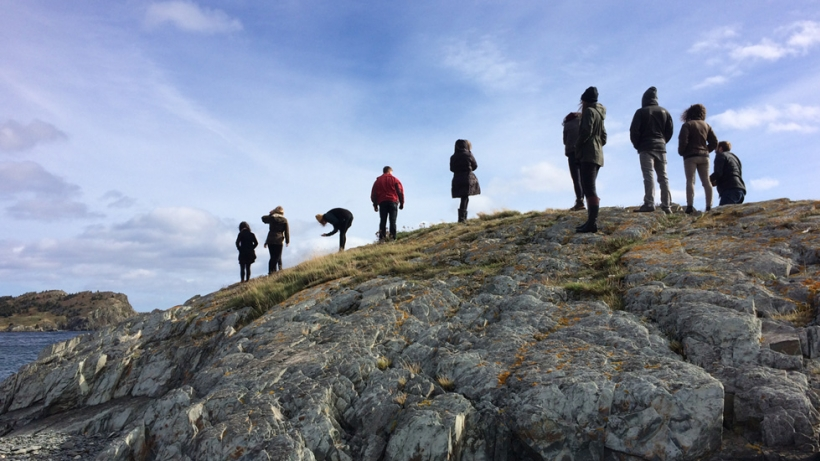 Image of Newfoundland Project students