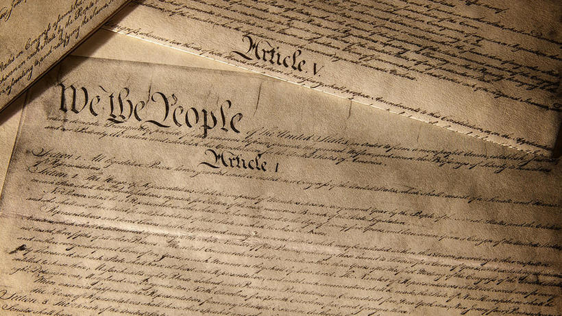 Image of the US Constitution