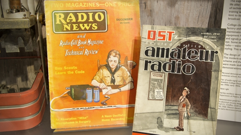 Radio Contact: Amateur Radio Literature