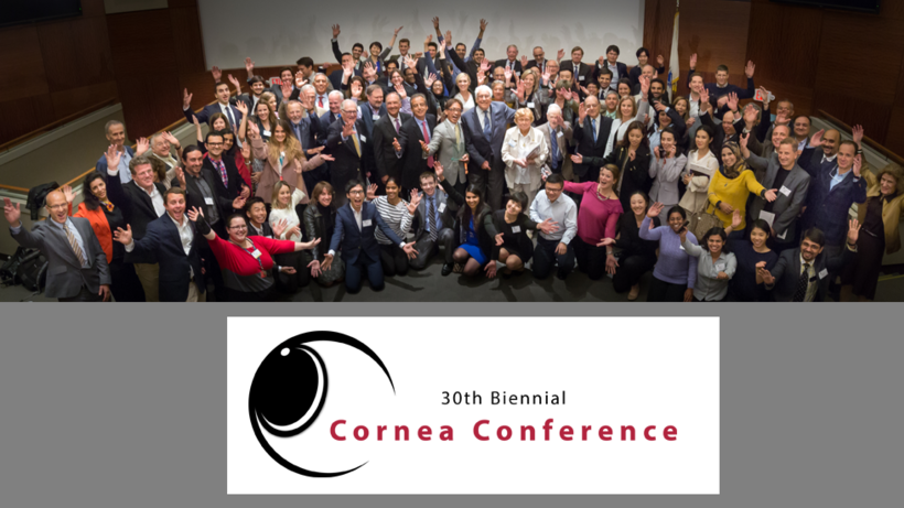 The 30th Biennial Cornea Conference was a huge success, with record-high attendance