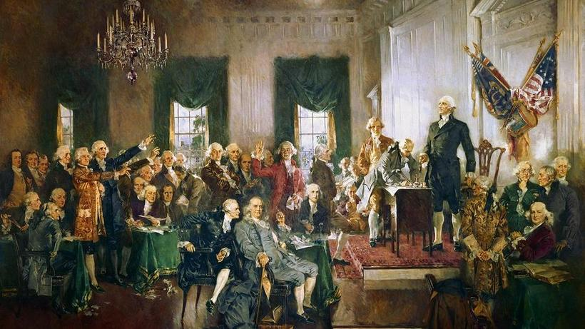 Howard Chandler Christy, Scene at the Signing of the Constitution of the United States
