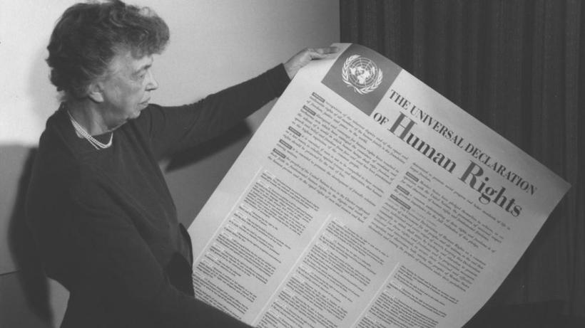Eleanor Roosevelt and United Nations Universal Declaration of Human Rights (Lake Success, NY)