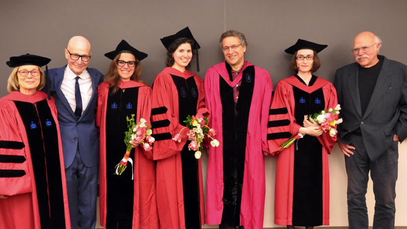 Photo of Recently Confirmed History of Science Graduate Students