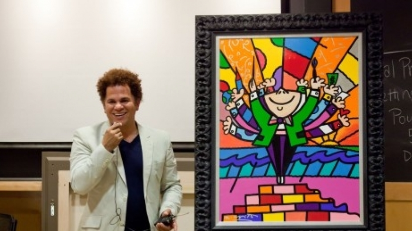 Romero Britto at Harvard: The Art of Negotiation