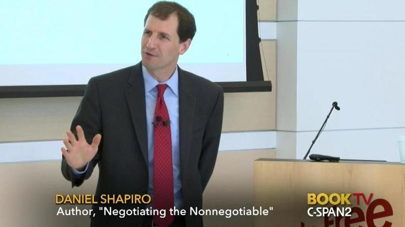 Negotiating the Nonnegotiatiable: Read Dr. Shapiro's newest book