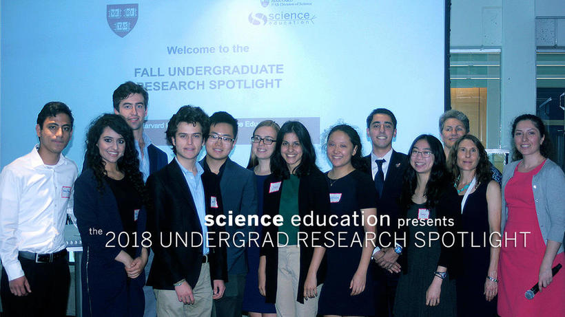 Undergraduate Research Spotlight Group Photo 2018