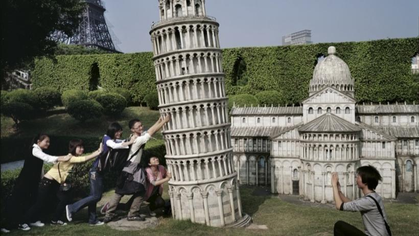 Little Leaning Tower by Yu Haibo