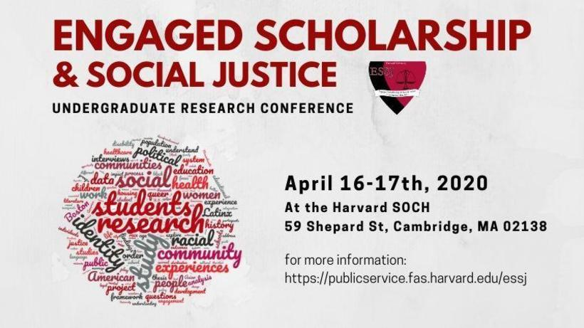 Engaged Scholarship and Social Justice Research Conference