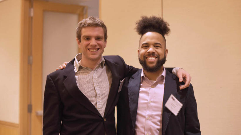 2019 HEAS Co-Chairs Casey Stevens and Jalem Towler_photo by Hyejoo Lee