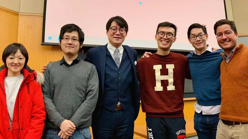 Junchao Tang_RSEA students with Prof Yuhua Wang_2018