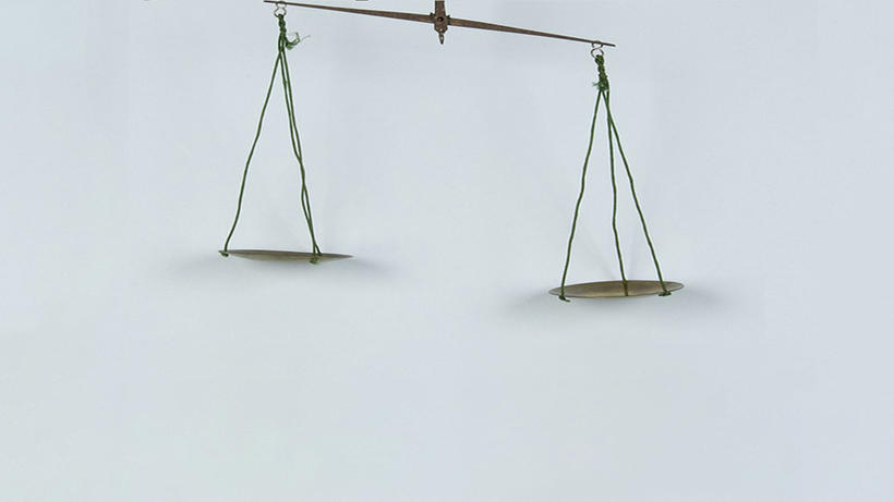 image of a balance scale from CHSI Waywiser database
