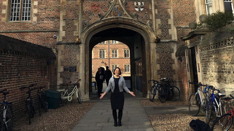 Anya at Jesus College