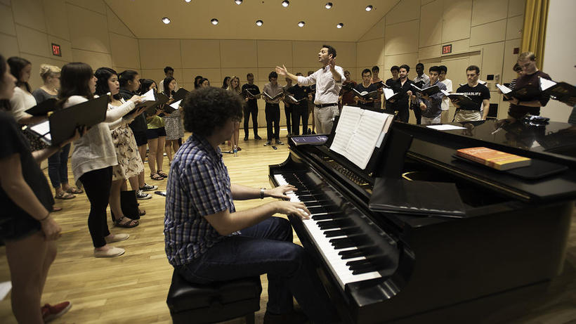 The Chorus Line | An inside look at Harvard University Choir auditions