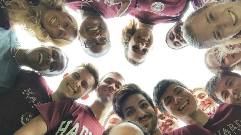 Students from my summer at Harvard