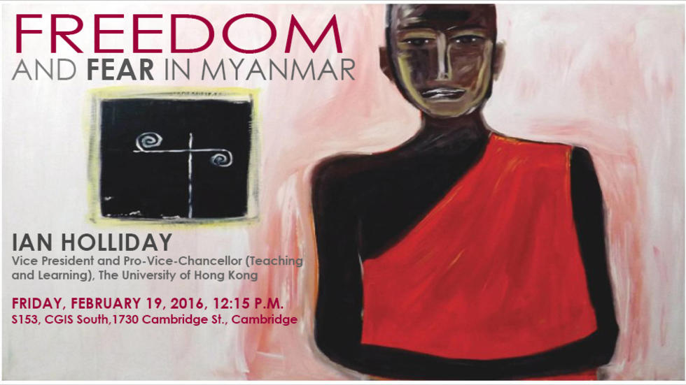 Freedom and Fear in Myanmar