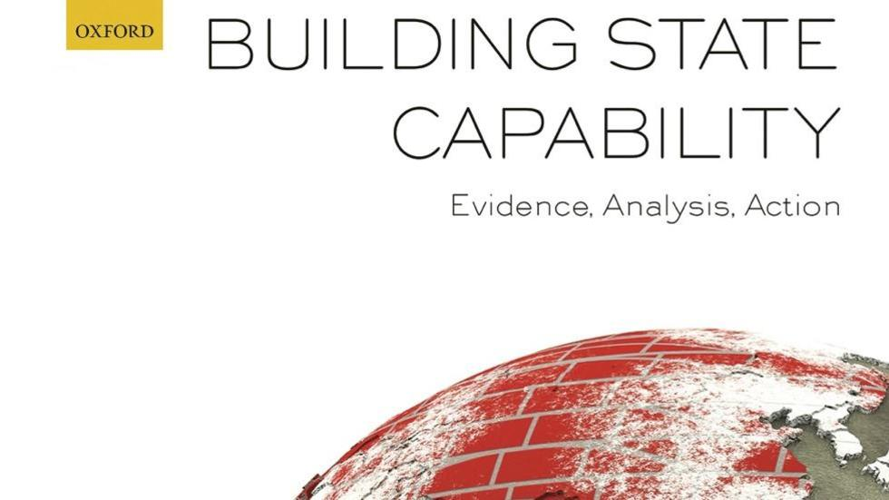 Building State Capability Book Cover