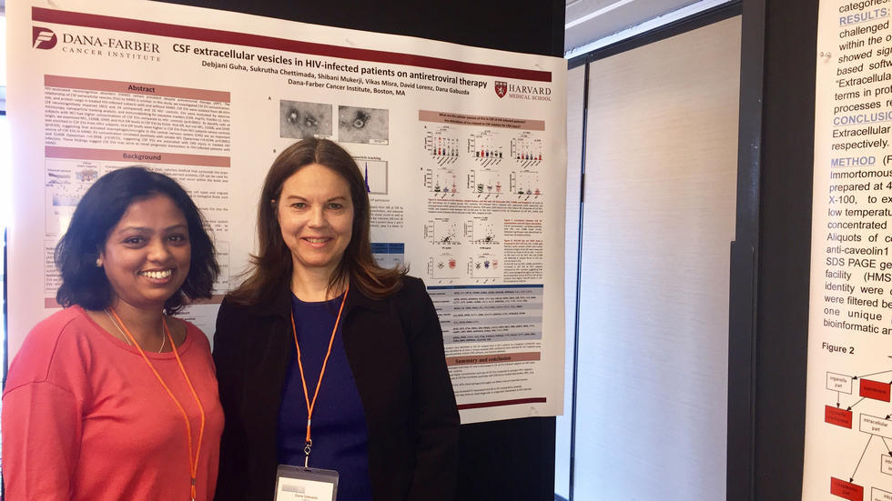 Debjani and Lab PI at Exosomes and Extracellular Vesicles Conference 2017