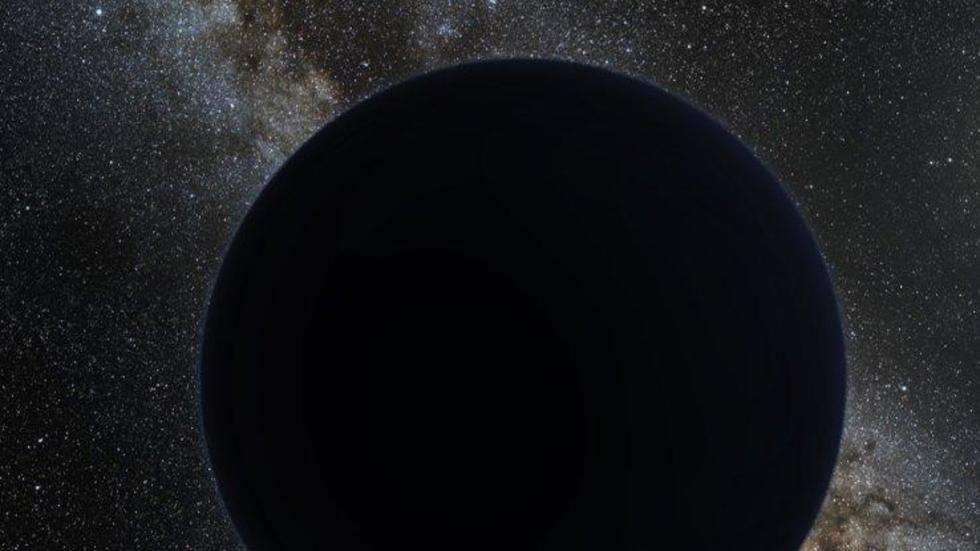 Artist's impression of Planet Nine. (nagualdesign/Tom Ruen/ESO/Wikimedia Commons)