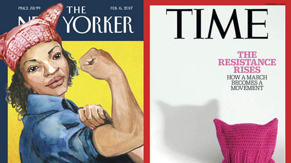 Time - New Yorker covers