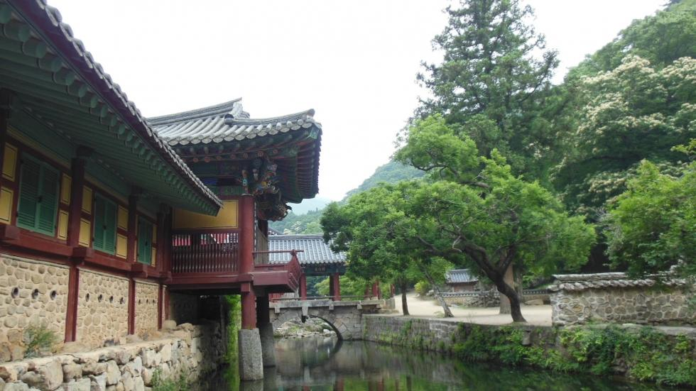 Songgwang temple, Sunch'ŏn, Korea