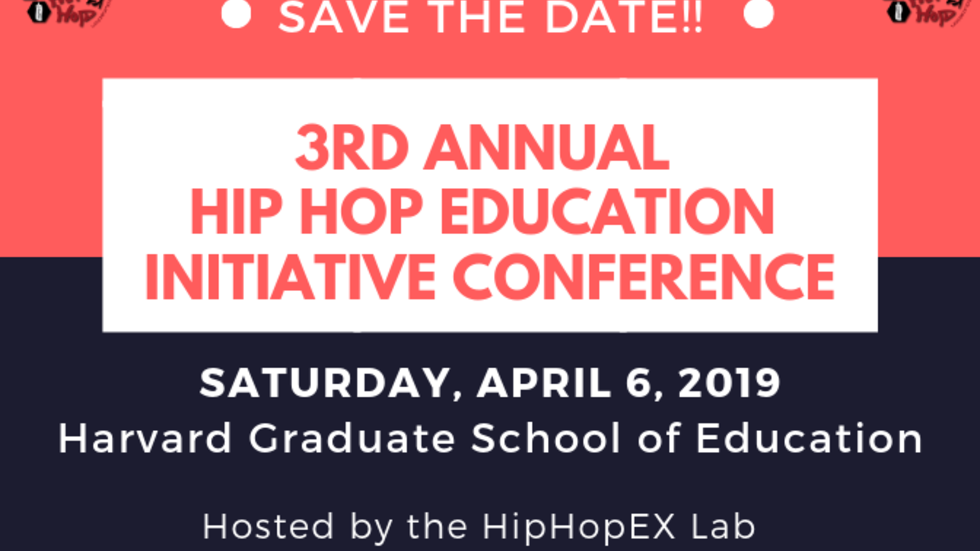 Save the Date April 6, 2019
