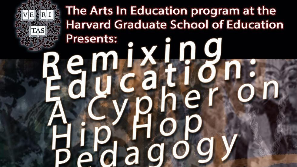 Flyer for Hip Hop Education Cypher at HGSE