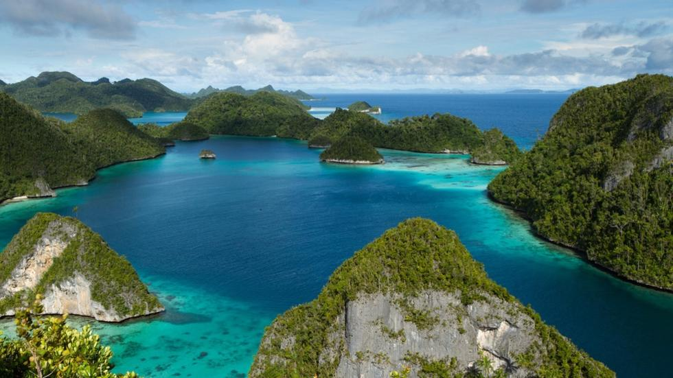 Scenic Islands of Indonesia