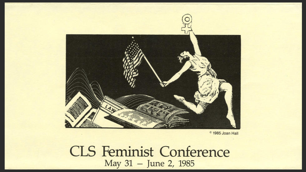 CLS Feminist Conference_1985_recto_cropped