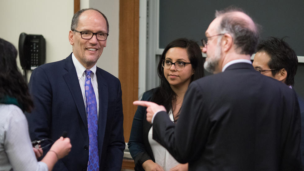 Tom Perez group shot