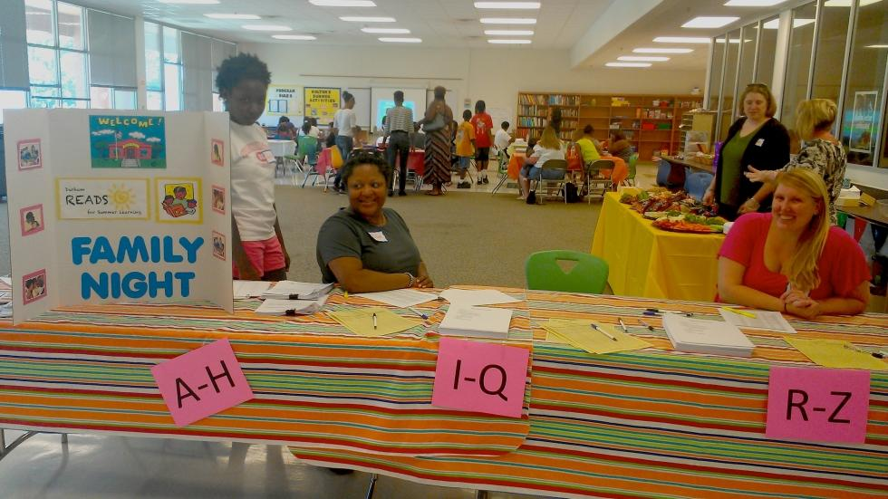 Family Engagement: READS participating schools host a Family Night and send parents tips over the summer, helping families support kids' learning.