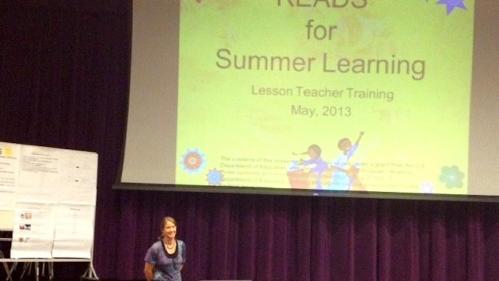 READS provides training and support for teachers, helping them prepare students for independent summer reading.