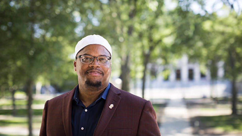 Khalil Abdur-Rashid, the new Muslim chaplain